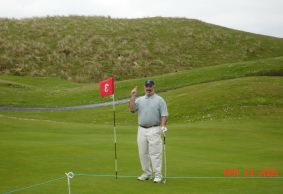 Tim Coravos - Hole-in-One at Ballybunion Golf Club