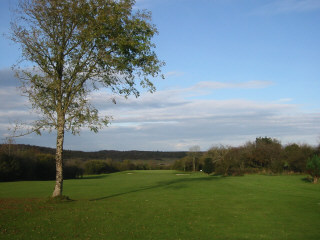 Approach to the 11th at Gort